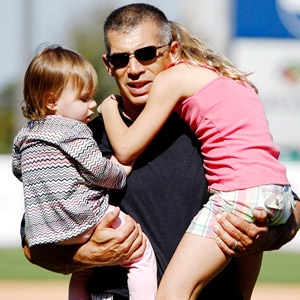 Joe Girardi and family