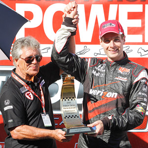Mario Andretti and Will Power