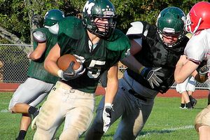 Brian May, Marshfield HS football