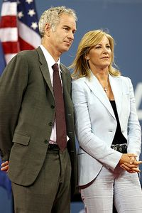 John McEnroe and Chris Evert