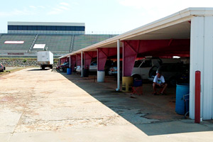 North Wilkesboro Speedway Garage