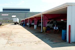 North Wilkesboro Speedway Garage