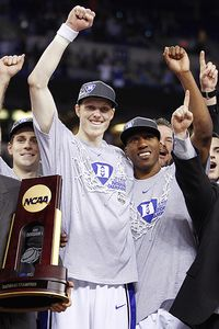 Kyle Singler and Nolan Smith