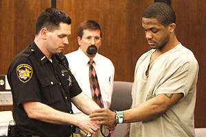Maurice Clarett, seen here in this photo from 2010, served 3 years in prison on robbery and concealed weapons charges.