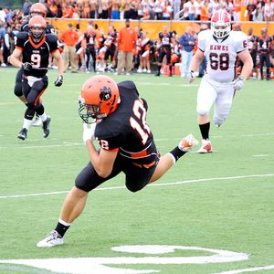 Action photo of Wheaton Warrenville South's win over Maine South