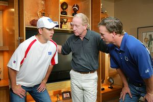 Eli, Archie and Peyton Manning