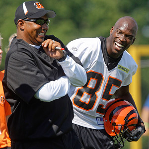 Marvin Lewis and Chad Ochocinco