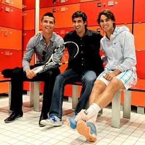 Rafael Nadal, Cristiano Ronaldo & Raul Gonzalez