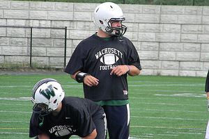 Quarterback Matt LeBlanc of Wachusett Regional High School