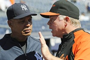 Reggie Jackson, Buck Showalter