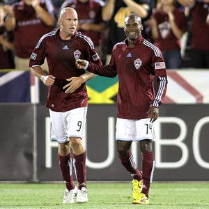 Conor Casey and Omar Cummings