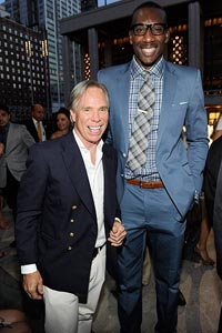 Tommy Hilfiger and Amare Stoudemire