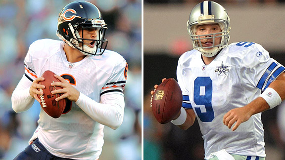 Jay Cutler/Tony Romo