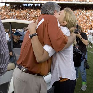Mack Brown Wife