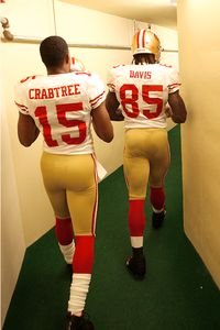 Vernon Davis and Michael Crabtree