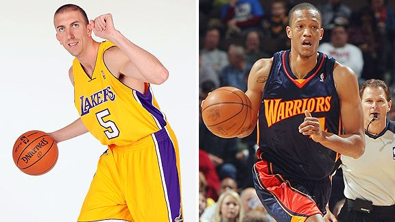 Steve Blake and Anthony Randolph