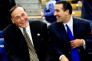Gene Keady & Steve Lavin