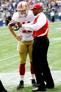 Alex Smith & Mike Singletary
