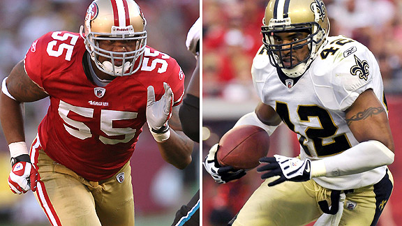 Ahmad Brooks/Darren Sharper