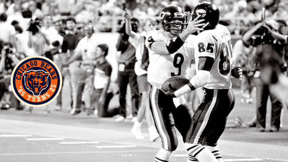 Dennis McKinnon campaigned for Jim McMahon's entrance after not seeing a pass in the first half.