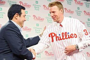 Ruben Amaro Jr. and Roy Halladay
