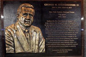 George Steinbrenner monument