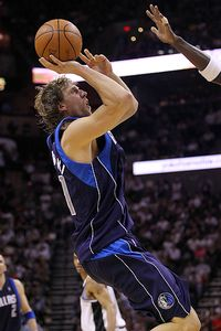 Nowitzki training