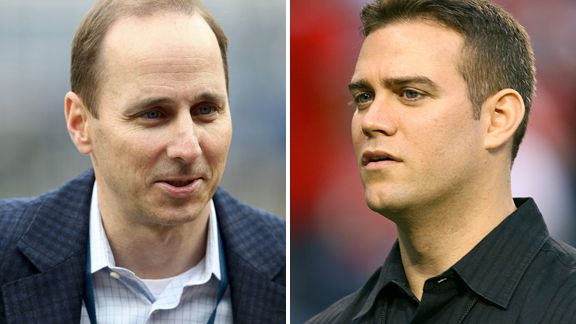 Theo Epstein and Brian Cashman