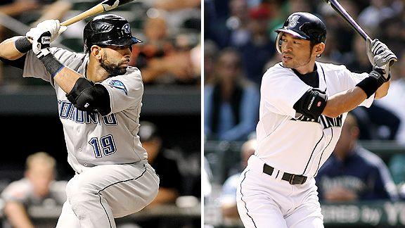 Bautista, Ichiro make major history - Stats & Info- ESPN