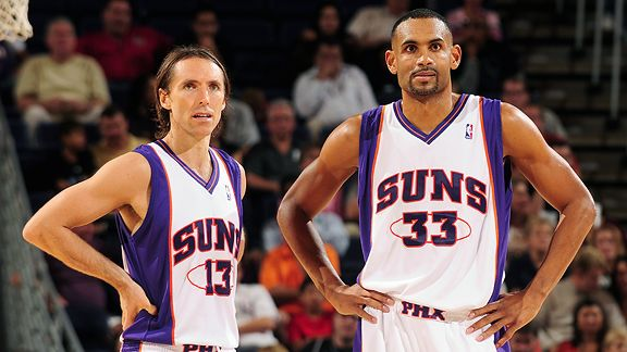 Steve Nash and Grant Hill