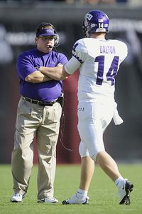 Gary Patterson and Andy Dalton