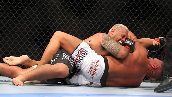 Mark Hunt and Sean McCorkle
