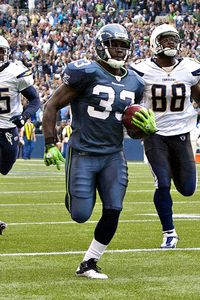 Seattle running back Leon Washington