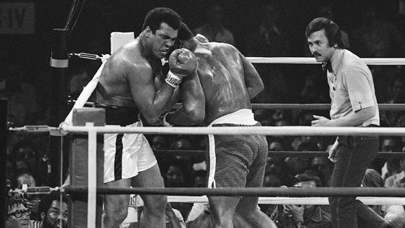 Muhammad Ali and Joe Frazier in Manila
