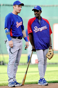 Josh Hamilton & Ron Washington