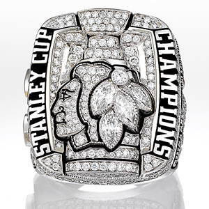 Blackhawks Championship ring