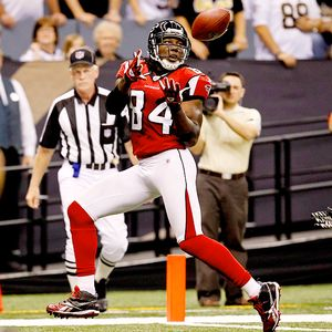 Derick E. Hingle/US Presswire Roddy White has 25 catches for 258 yards