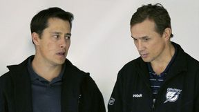 Guy Boucher and Steve Yzerman