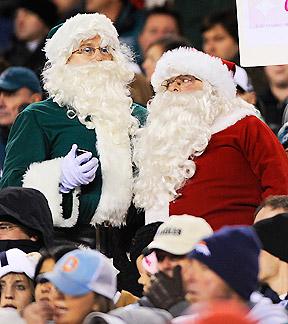 Santa in Philly