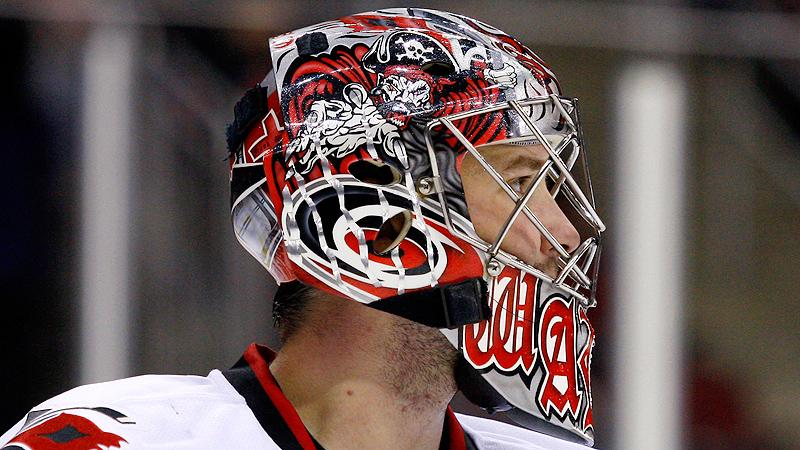 30 Goalie Masks Of The Nhl New Jersey S Martin Brodeur 30 Goalie