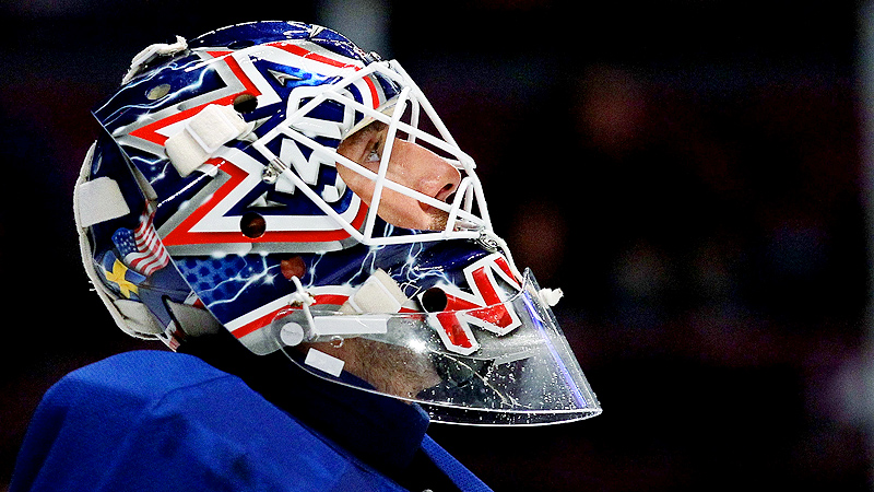 30 Goalie Masks Of The Nhl Rangers Henrik Lundqvist 30 Goalie