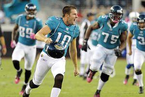 AP Photo/John Raoux Jags kicker Josh Scobee nailed his third career