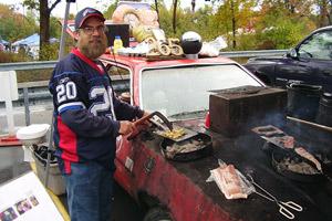 Ken Johnson Still Tailgating At Buffalo Bills Games