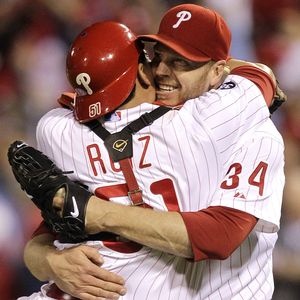 Roy Halladay no hitter playoffs