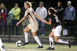Boston College's Kristie Mewis