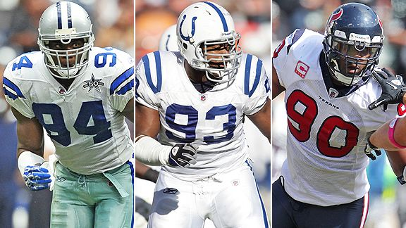 Ware/Freeney/Williams