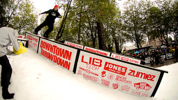 Scott Stevens at the 2010 Downtown Throwdown in Seattle, Wash.