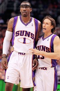 Steve Nash and Amare Stoudemire