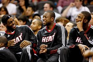 James, Wade & Bosh