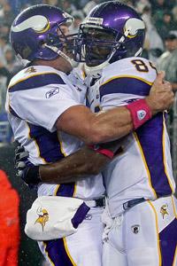 Randy Moss & Brett Favre